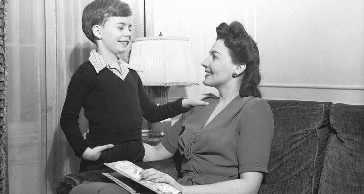 Niños en la década de 1950.