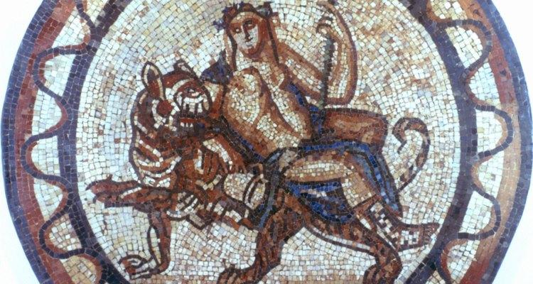 Baco era el dios romano del vino.