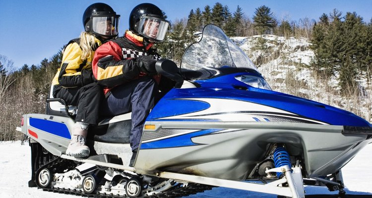 El trineo de nieve es uno de los deportes favoritos en Kremmling.