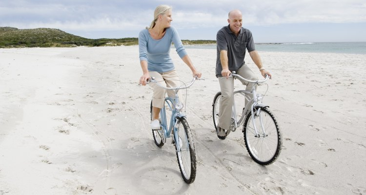 Las bicicletas crucero son ideales para paseos por la playa.