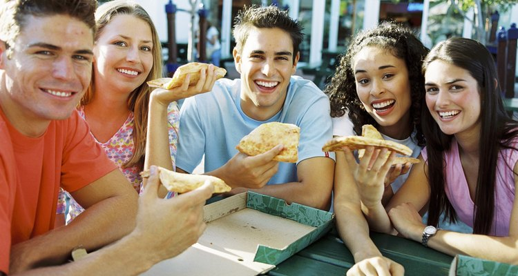 Bocadillos nutritivos para adolescentes.