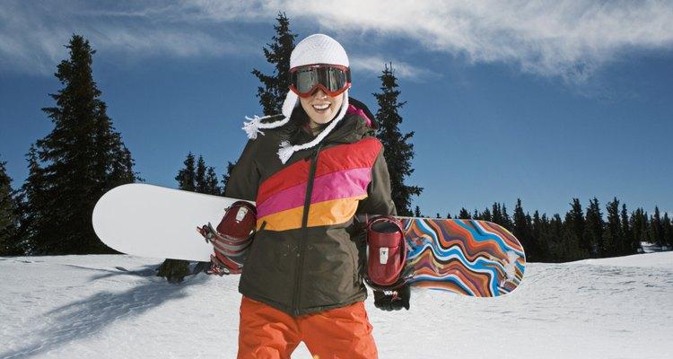 Los estilos para mujeres que practican el snowboard ostentan la individualidad.