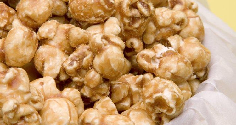 Palomitas de maíz dulces.