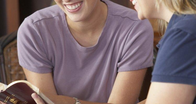 Women reading the Bible