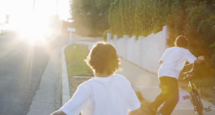 Toma ventaja de un día soleado con actividades en el exterior.