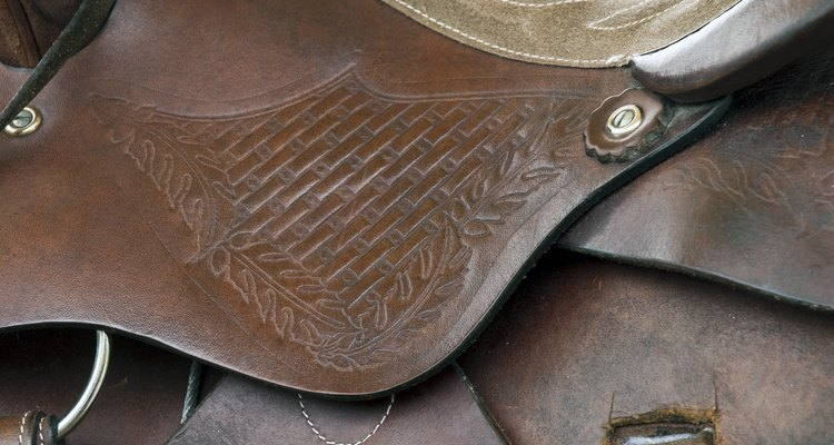Saddle in western style