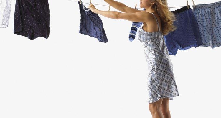 Quanto mais seca a roupa, melhor