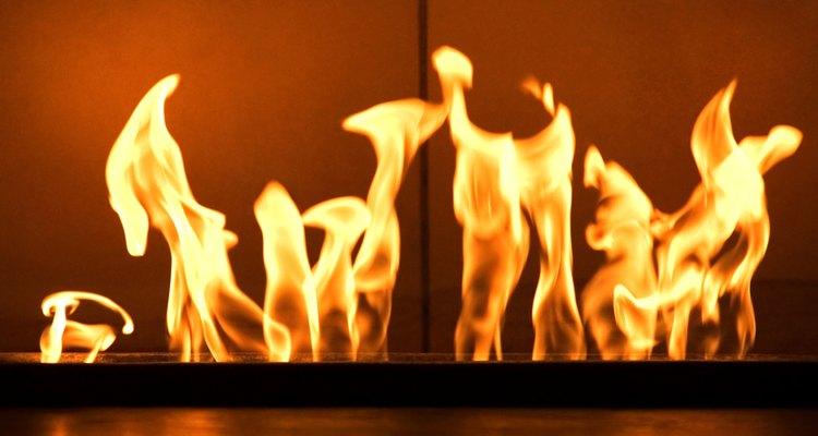 Querrás una llama amarilla en tu horno.