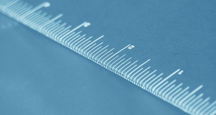 Um centímetro equivale a dez milímetros