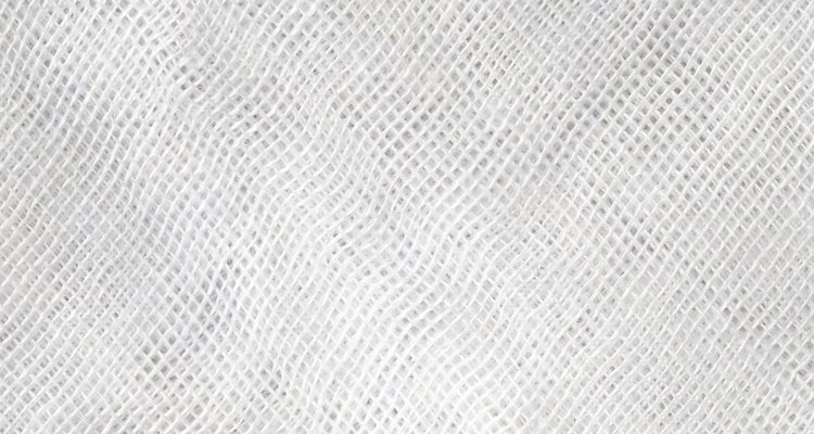 High resolution white and light gray texture of gauze background