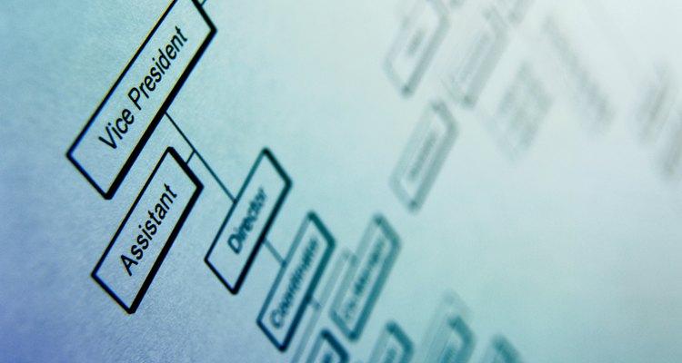 Un organigrama es una representación visual de la jerarquía de una empresa.