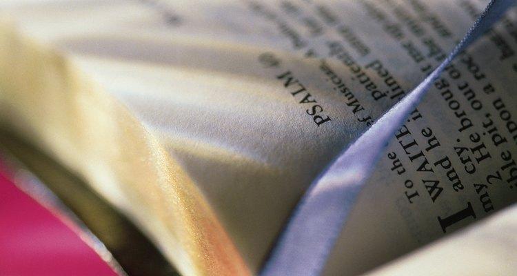 Los salmos se escribieron y cantan para alabar a Dios.