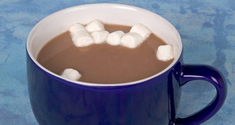 Usa leche descremada con el cacao.