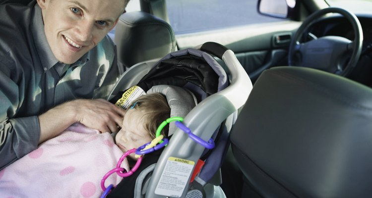 Car seats and other equipment can quickly indent a vinyl seat.