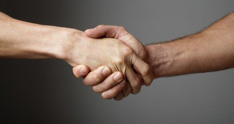 Dê um aperto de mão