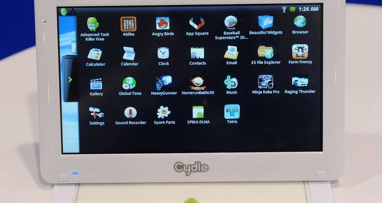 O Android é tradicionalmente utilizado em smartphones e tablets