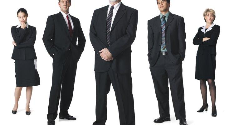 Los gerentes tratan de mantener una actitud profesional y estoica.