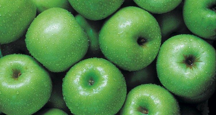 Para un aroma más intenso, prepara esta receta con una manzana verde.