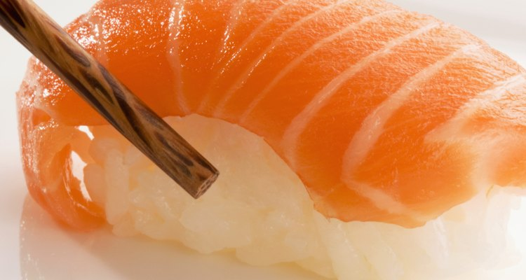 Salmon may be cooked, smoked or served raw as sushi.
