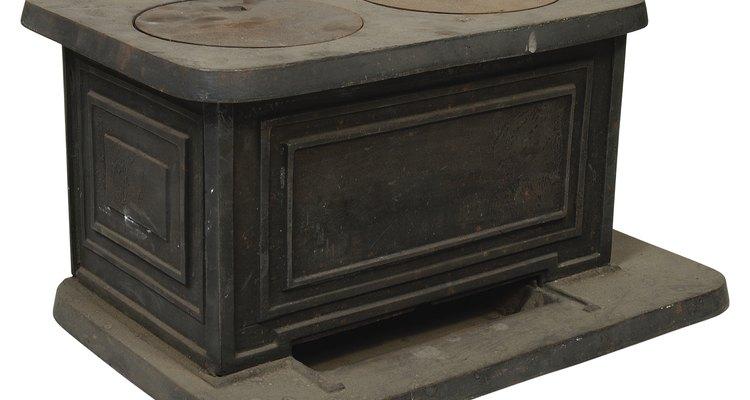 O fogão a lenha de ferro fundido existe há mais de um século