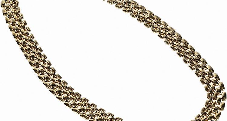 Peças de ouro podem variar de cor conforme a liga utilizada