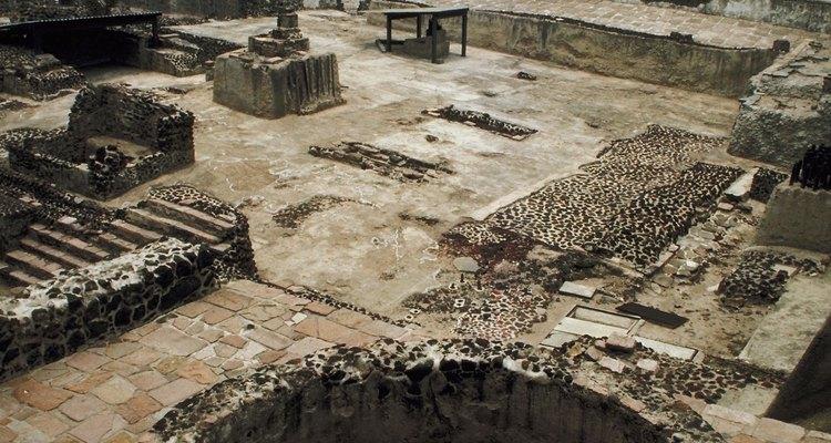 El hombre azteca creaba fuentes y diversas formas para construir la ciudad de Tenochtitlan o la moderna ciudad de México.
