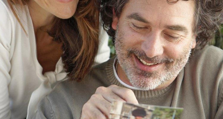 Grey hair can sometimes make men feel self-conscious.