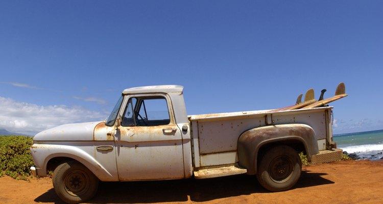 As caçambas de caminhonete são ideais para barracas pequenas