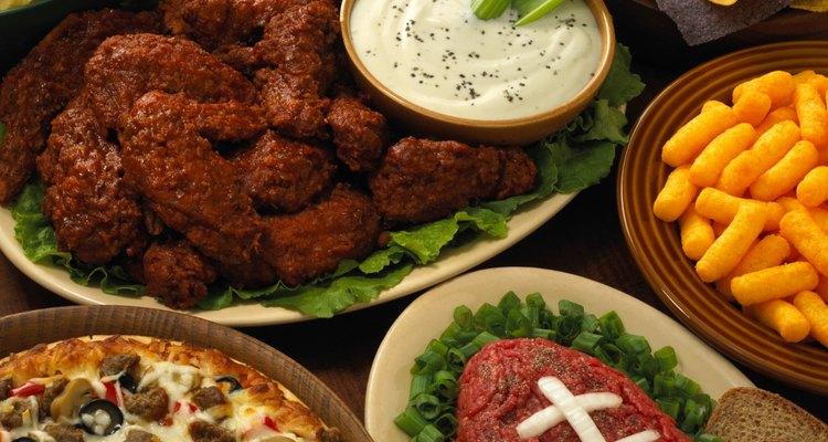 A comida ativa vários sentidos diferentes