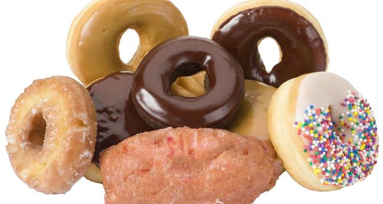 Armazene os donuts no congelador