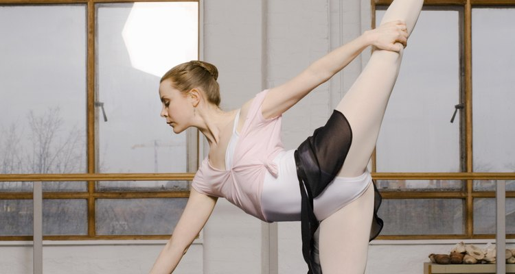 O alongamento é um elemento crucial para a arte do balé
