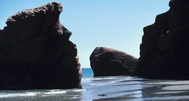 As pedras maiores eram descritas como sendo montanhas