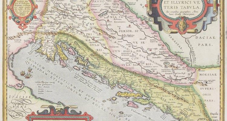 Kotor, Montenegro, está en el extremo sur del Mar Adriático.