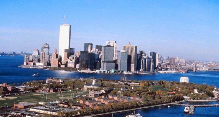 Manhattan es el escenario de Governors Island.