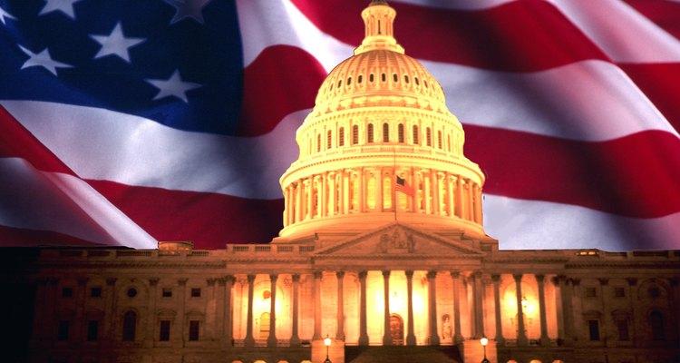 El Congreso sesiona en la capital de los Estados Unidos en Washington, D.C.