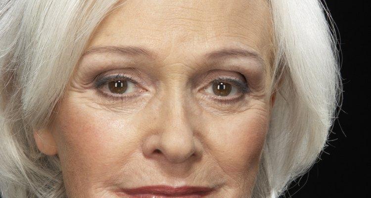 Senior businesswoman, smiling, portrait, close-up