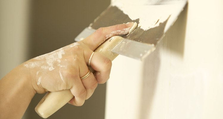 Plaster application requires extensive training.