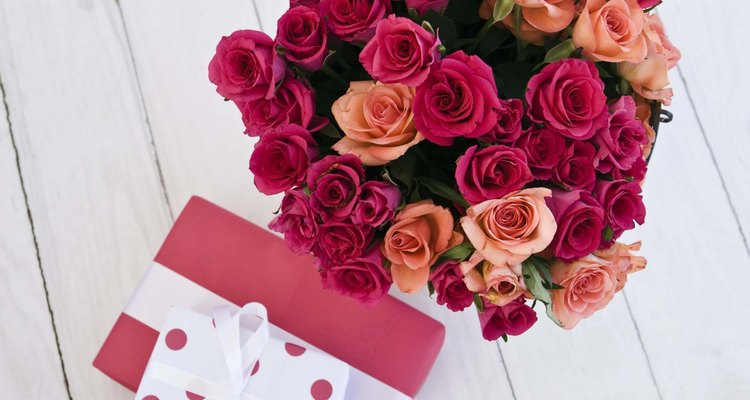 Flowers help to brighten up a room and will put a smile on her face.
