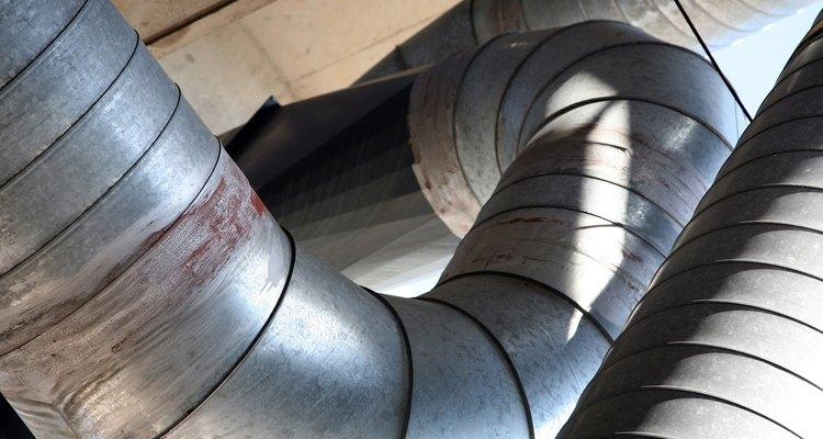 Las unidades de aire acondicionado utilizan bobinas de evaporación.