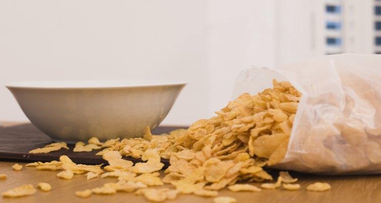 Verifica el contenido de azúcares en los cereales.