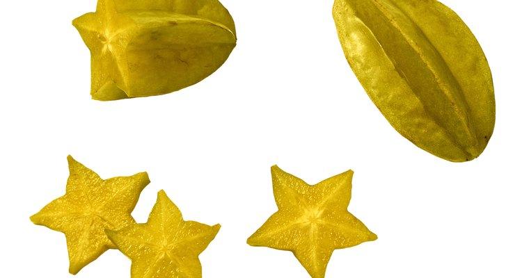 Carambola, também conhecida como estrela-fruta