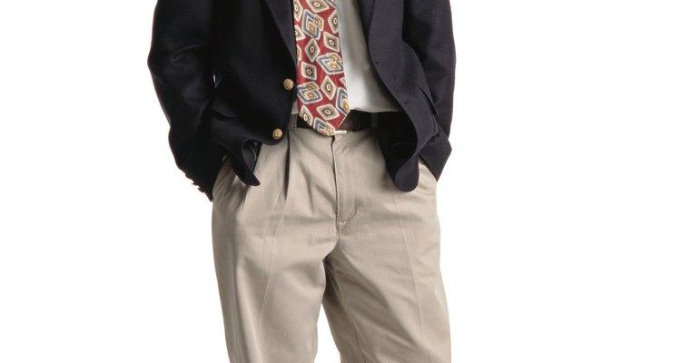 El caqui es una buena opción para pantalón.