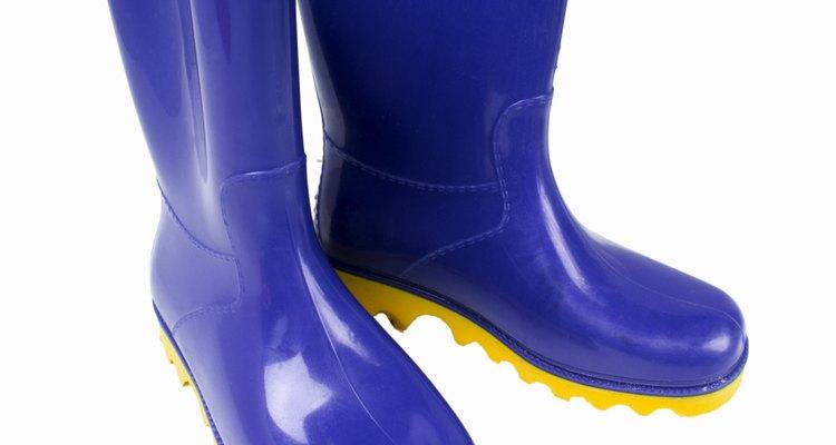 Las manchas de rotulador pueden ser eliminadas del caucho.