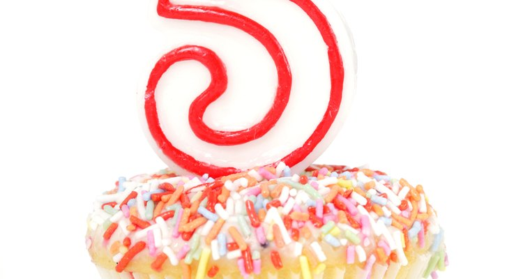A 95th birthday can be a countdown to 100; use a No. 5 candle on the cake.