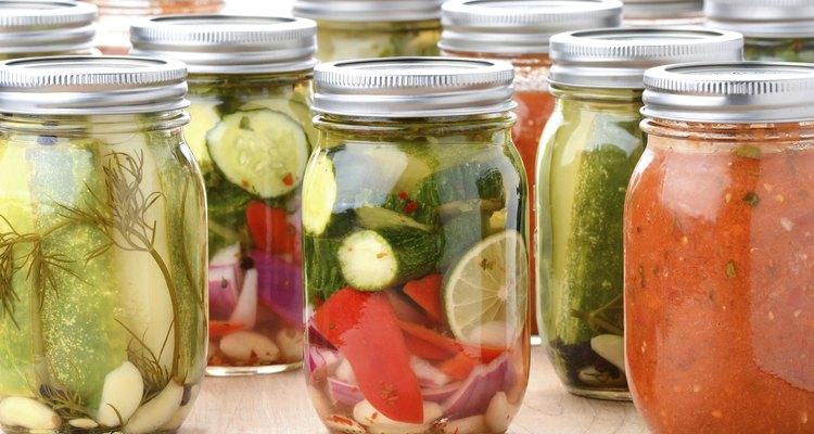 Preserved Food In Jars