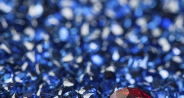 El rubí es conocido como el señor de las gemas.