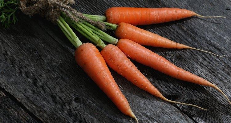 fresh crop of carrots tie beam