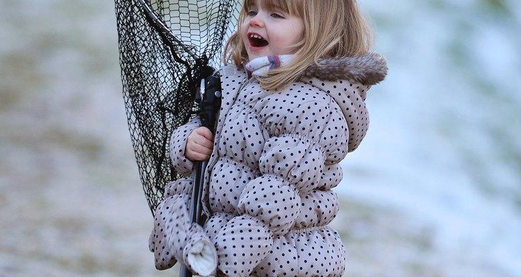 La pesca comienza temprano en Perthshire.