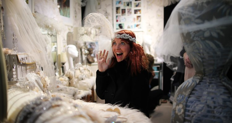 Visitors Enjoy The National Wedding Show At Olympia
