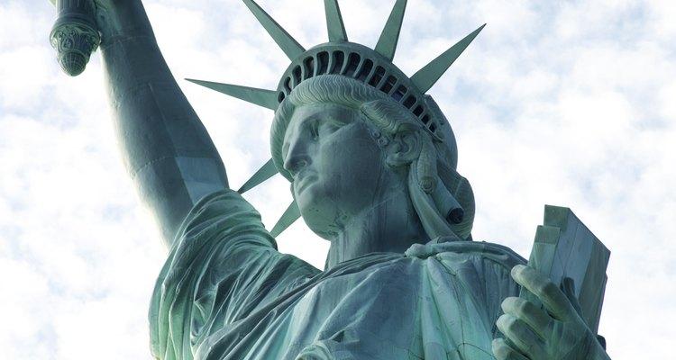Crea tu propio disfraz de la Estatua de la Libertad.